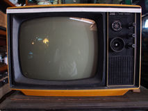 Vintage Television. Pasar Triwindu is a traditional flea market that sell antique items, located in front of Mangkunegaran, Ngarsopuro, Surakarta, Indonesia stock photography