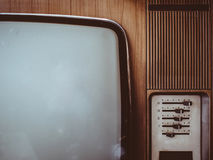 Vintage television set Royalty Free Stock Photos