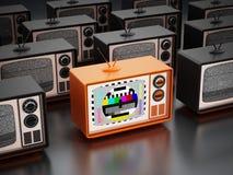 Vintage television Royalty Free Stock Photo