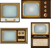 Vintage Televisions Royalty Free Stock Images