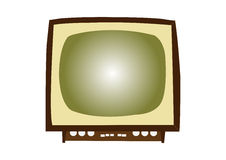 Vintage Televisions Stock Photo