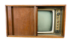 Vintage Televisions Royalty Free Stock Photography