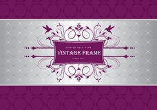 Vintage template stock illustration