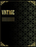 Vintage template background Royalty Free Stock Image