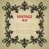Vintage template frame royalty free stock photos