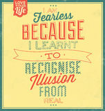 Vintage Template - Retro Design - Quote Typographic Background Stock Photos