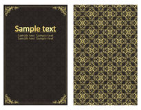 Vintage template vector background Stock Images