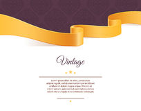 Vintage template Royalty Free Stock Photography