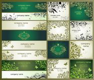 Vintage templates Royalty Free Stock Images