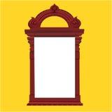 Vintage temple door Stock Image
