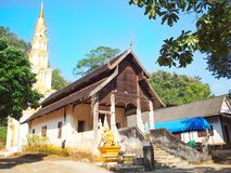 Vintage Temple. Old Temple in Chiangmai Royalty Free Stock Photo
