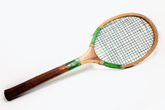 Vintage Tennis Racket Royalty Free Stock Photography