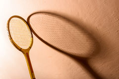 Vintage tennis racket Stock Image