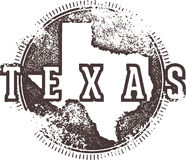 Vintage Texas Sign Royalty Free Stock Photo