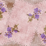 Vintage textile background Royalty Free Stock Image