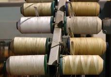 Vintage Textile Machinery Stock Photo