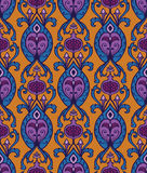 Vintage textile with ornament. Royalty Free Stock Photos