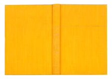 Free Vintage Textile Yellow Book Royalty Free Stock Photography - 55496587