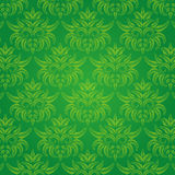Vintage texture. A classic victorian wallpaper pattern Stock Photos