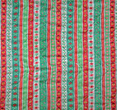 Vintage texture fabric Christmas. royalty free stock photography