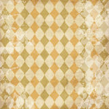 Vintage texture with rhombuses Stock Photo