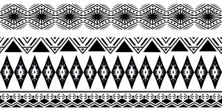 Vintage texture trendy illustration of ethnic navajo hand drawn seamless pattern vector illustration. Monochrome ethnic Vintage texture trendy illustration of royalty free illustration