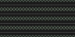 Vintage texture trendy illustration of ethnic navajo hand drawn seamless pattern vector illustration. Monochrome Vintage texture trendy illustration of ethnic vector illustration