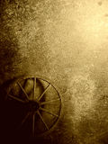 Vintage texture with wheel Stock Images