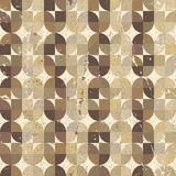 Vintage textured parquet seamless background, vector pattern wit Stock Photography