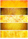 Vintage textures and backgrounds for banners Stock Image