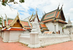 Vintage Thai temple Royalty Free Stock Photography