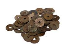 Vintage Thailand coins Stock Photos
