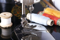 Free Vintage The Sewing Machine Stock Photography - 54633372