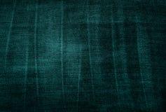 Vintage threadbare green fabric texture stock photos