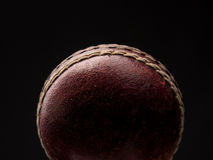 Vintage throw ball. Old vintage throw ball on a dark background royalty free stock photos