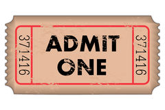 Vintage Ticket Stock Photos