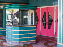 Vintage Ticket Booth Royalty Free Stock Photos