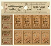 Vintage Tickets Royalty Free Stock Image