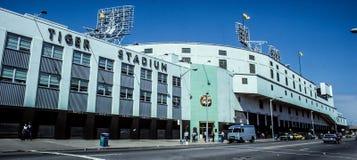 Vintage Tiger Stadium, Detroit, Michigan Stock Image