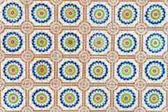 Vintage tile background Royalty Free Stock Photo