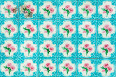 Vintage tile background Stock Photos