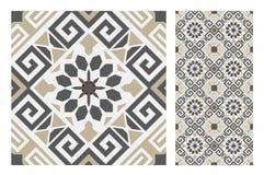 Vintage tile vector Royalty Free Stock Photos
