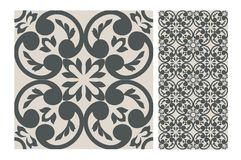 Vintage tile vector Royalty Free Stock Photography