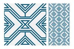 Vintage tile vector Stock Image