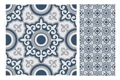 Vintage tile vector Royalty Free Stock Images