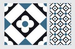 Vintage tile. Wall craft design patterns Royalty Free Stock Photo