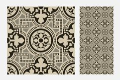Vintage tile Stock Images