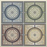 Vintage tiles Royalty Free Stock Images