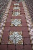 Vintage Tiles on the floor Stock Image