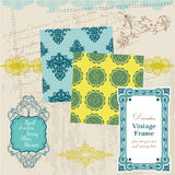 Vintage Tiles and Frames Royalty Free Stock Image